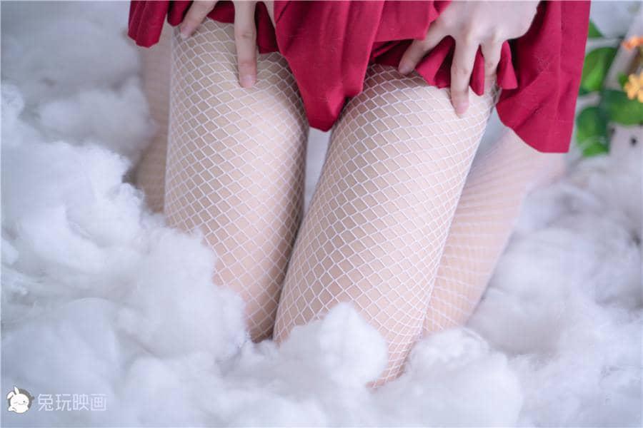 兔玩映画 红裙如火 [43P38M]