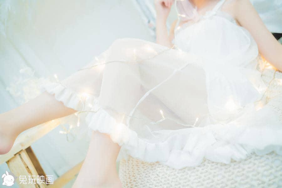 兔玩映画 白纱裙 [44P625M]