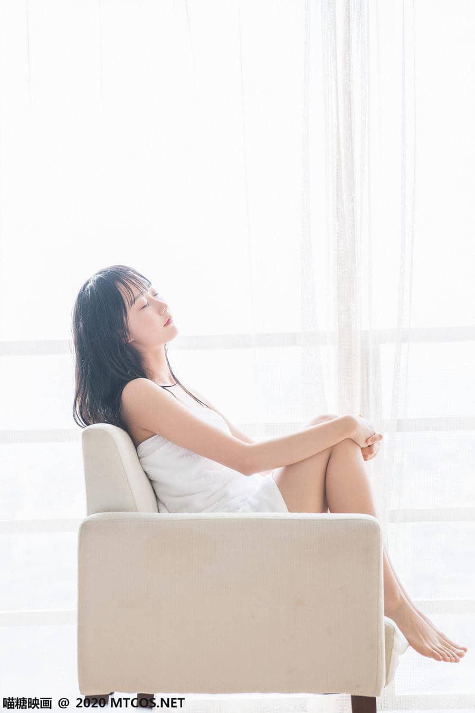 喵糖映画 VOL.174 纯白浴巾 [58P159M]