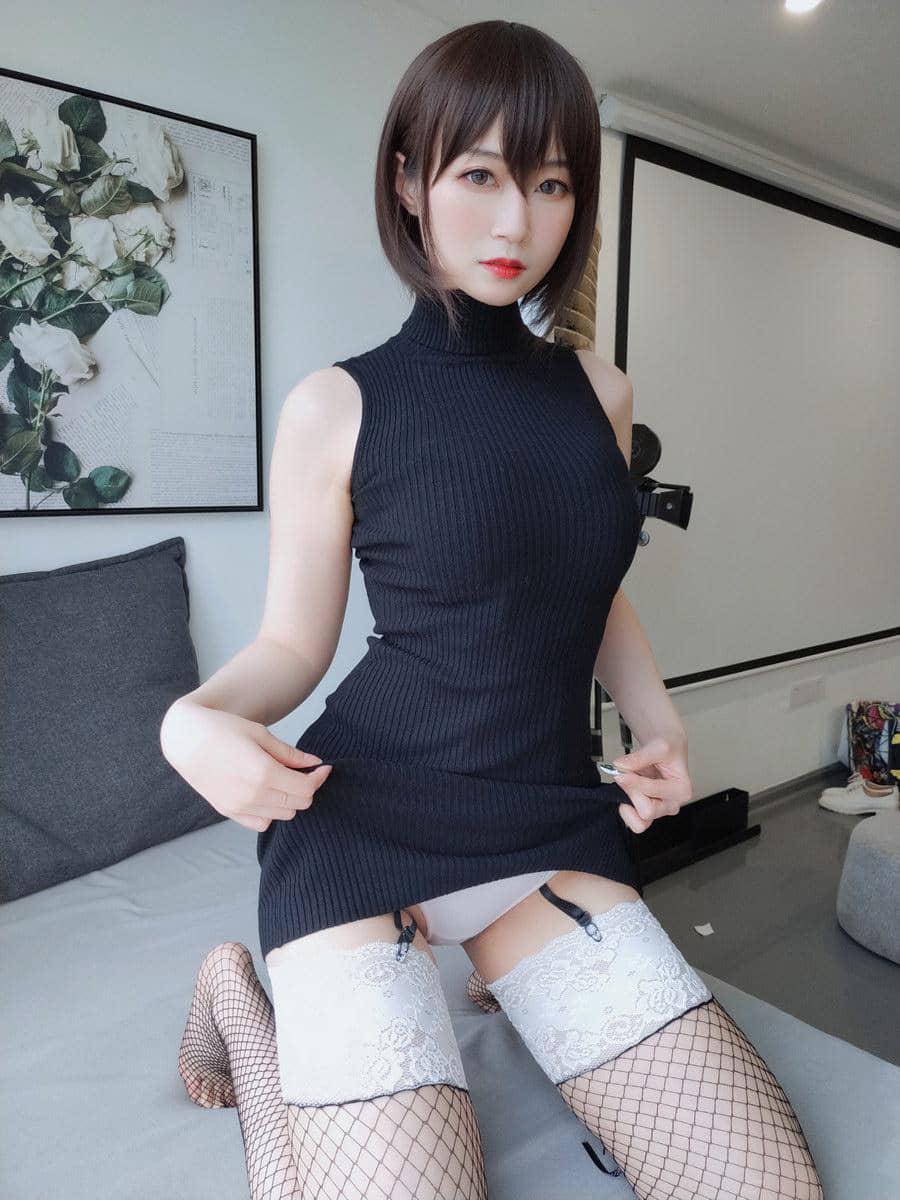 白银81 - 黑色包臀裙 [35P2V305M]