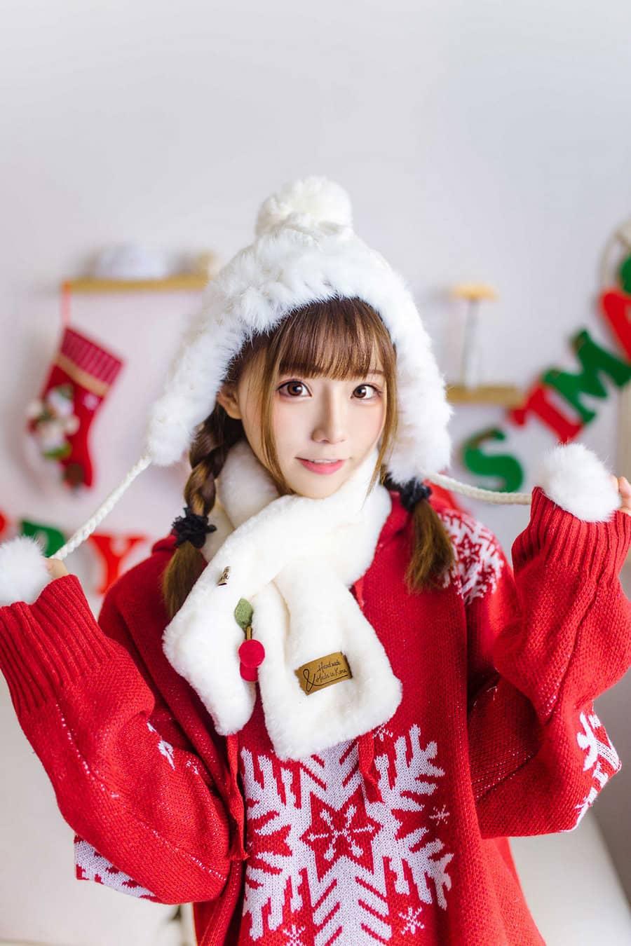 喵糖映画 VOL.342 圣诞节 [33P199M]
